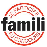 Concours Famili - Merci pour votre vote!