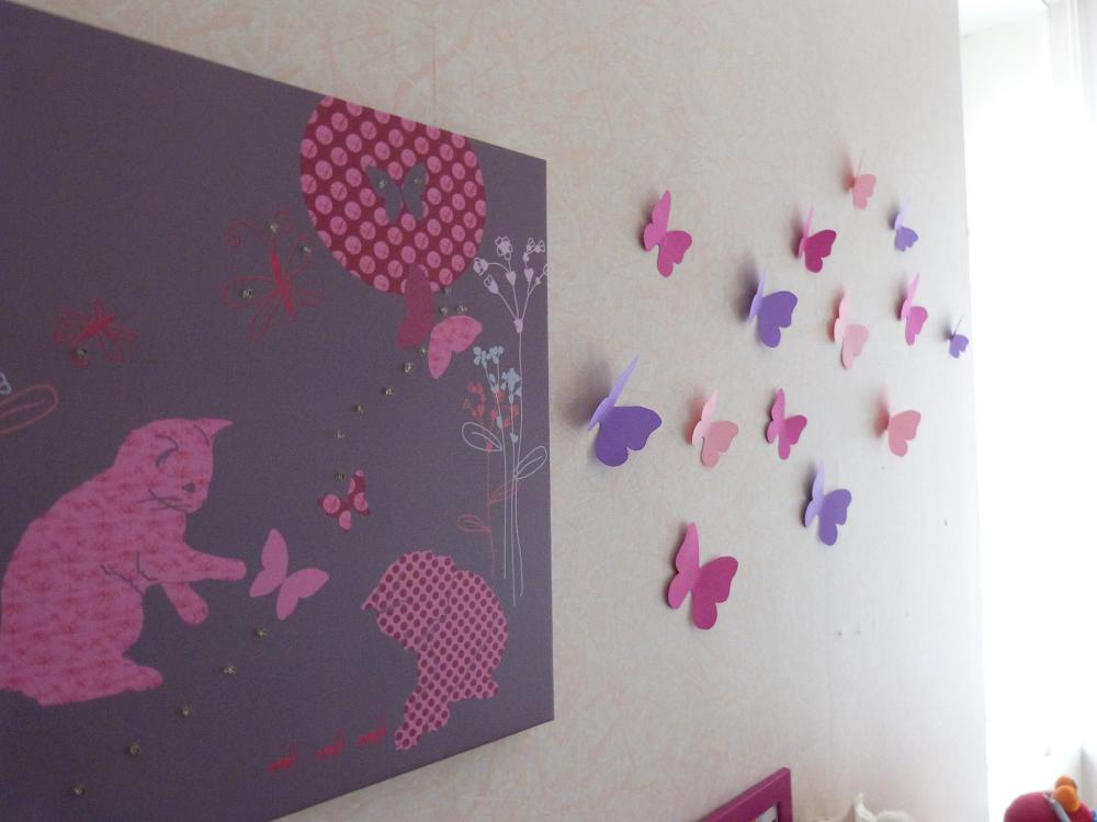 Chambre Bebe Deco Papillon