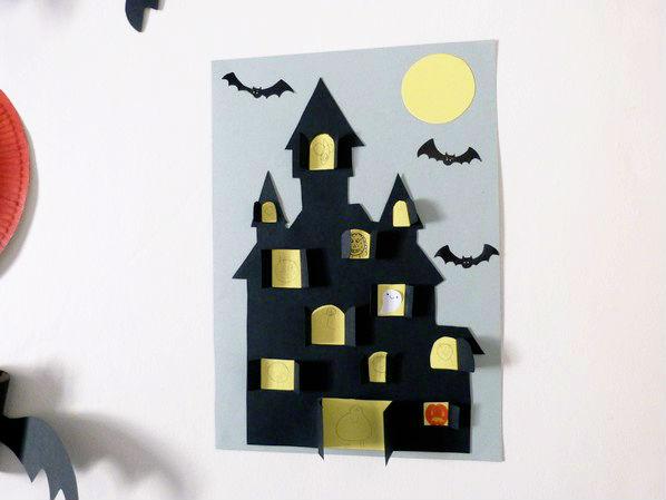 Nos bricolages d 39 halloween devine qui vient bloguer for Maison et bricolage