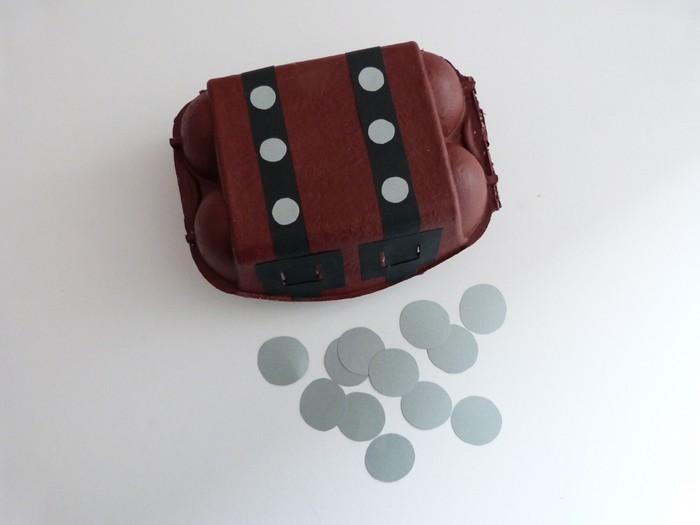 l est un jeu d enfant comment faire un coffre au tr 233 sor avec une bo 238 te 224 œufs qui