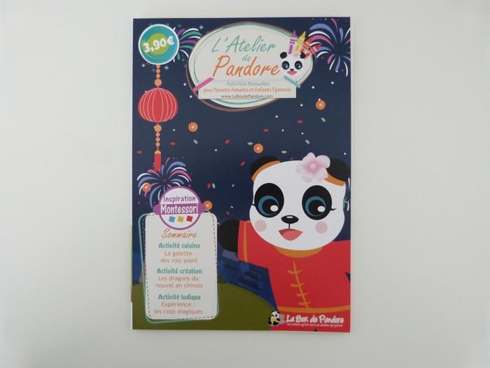 Box de pandore janvier - activites