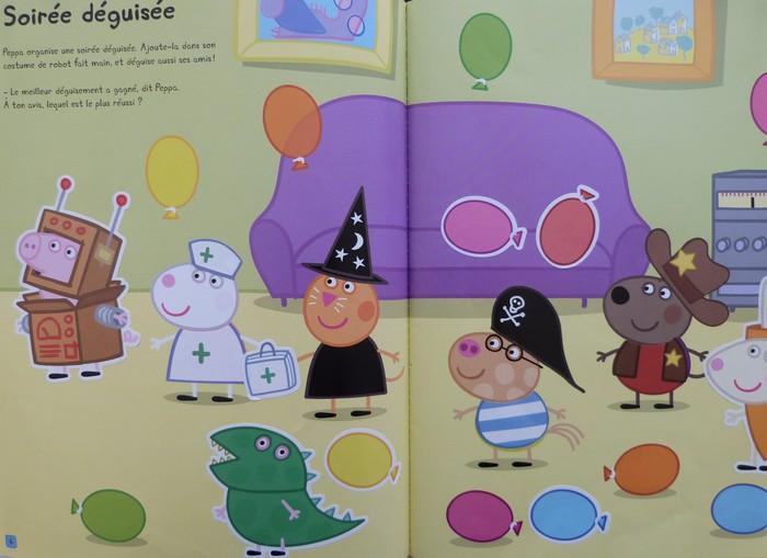 Peppa Pig - cahier d'autocollants