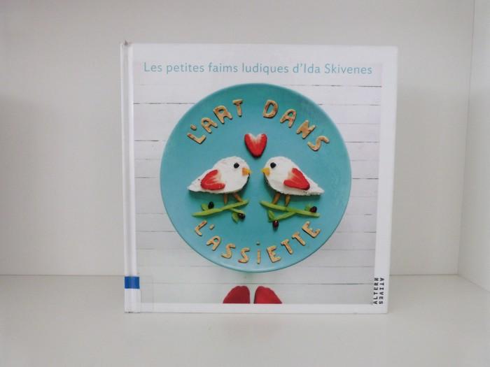 Livres de cuisine pour les enfants - l'art dans l'assiette - Isa Frosk